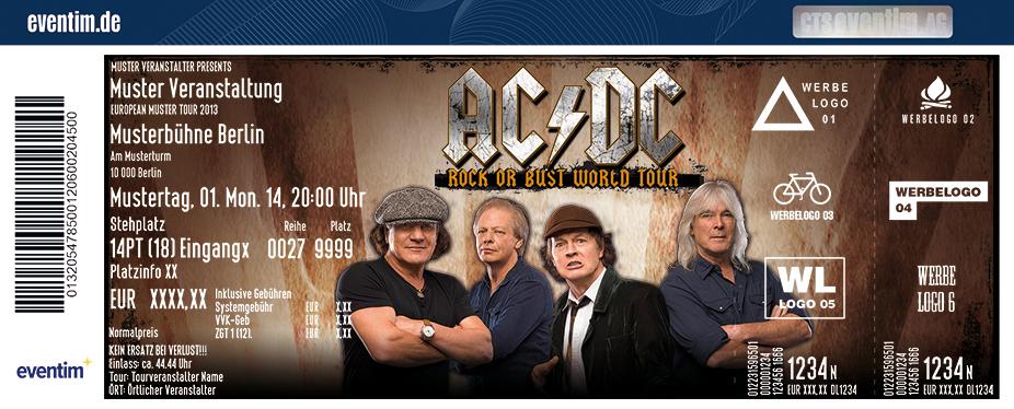 Acdc World Tour  Tickets