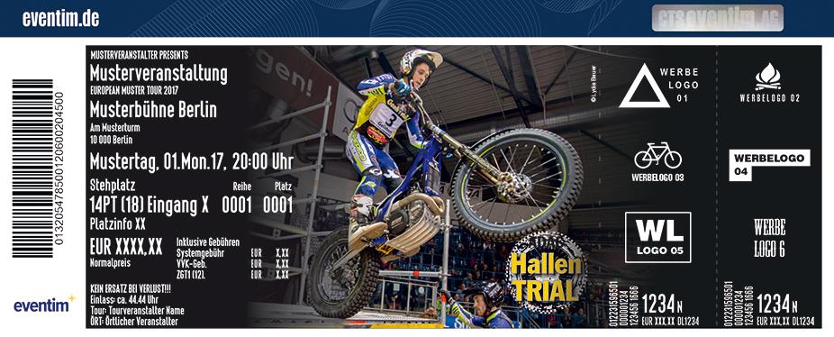 Karten für ADAC Hallen-Trial Ingolstadt 2018 in Ingolstadt