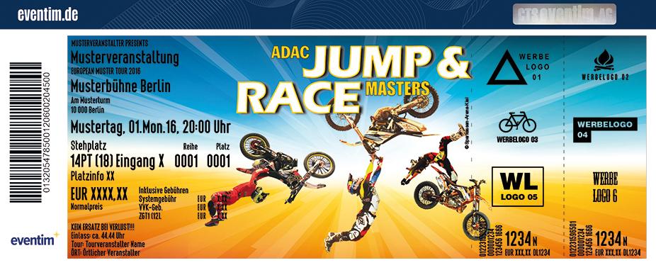 Adac Jump & Race Masters Karten für ihre Events 2017