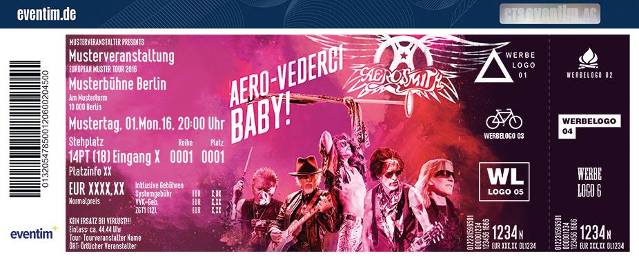 Aerosmith Karten für ihre Events 2017
