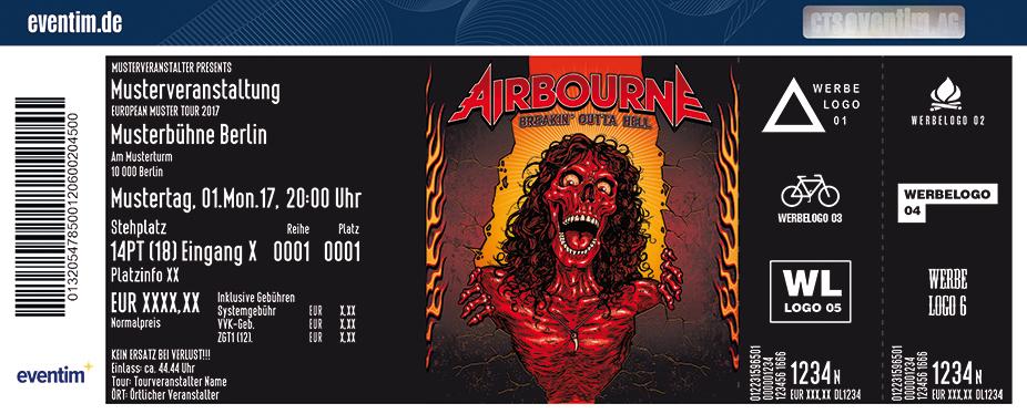 Karten für Airbourne in Wien