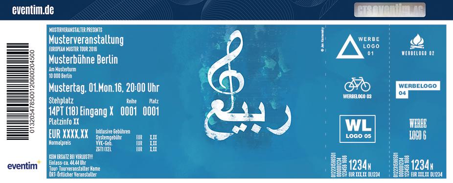 Karten für Al-Rabiah - Orientalisches Klassikkonzert in Hamburg