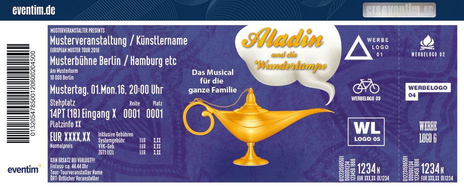 Karten für Aladin und die Wunderlampe - Harzer Bergtheater Thale in Thale / Harz