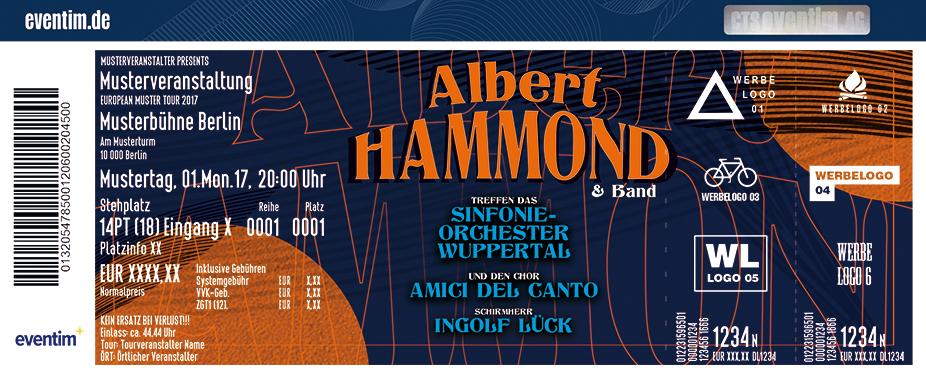 Albert Hammond Karten für ihre Events 2018