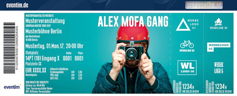 Karten für Alex Mofa Gang in Dresden