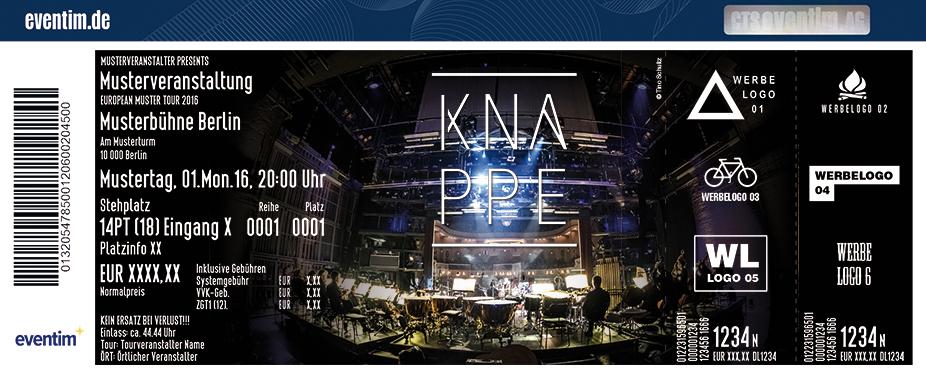 Alexander Knappe Karten für ihre Events 2017