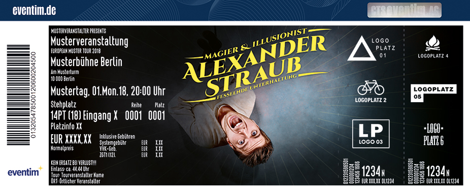 Alexander Straub Tickets Nürnberg Tickets