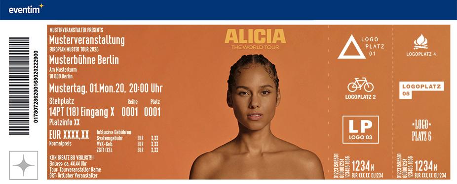 Alicia Keys - The World Tour