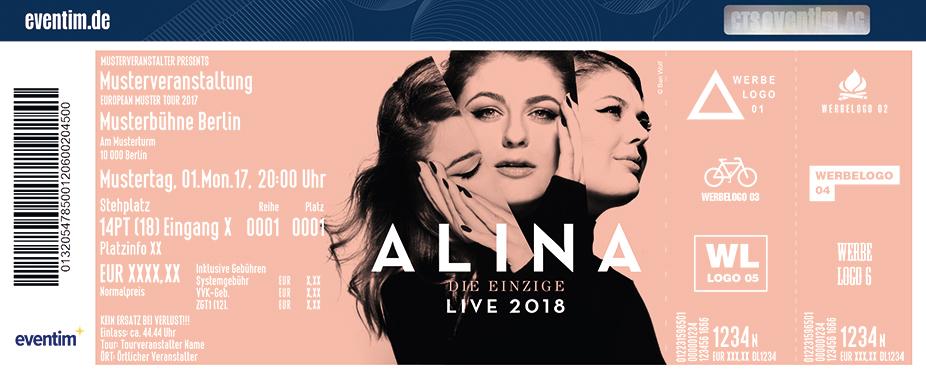 Alina Karten für ihre Events 2018