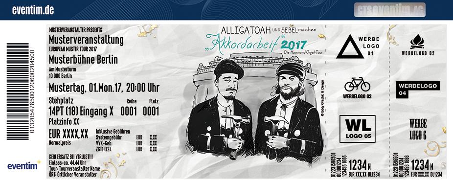 Karten für Alligatoah: Akkordarbeit 2017 in Frankfurt