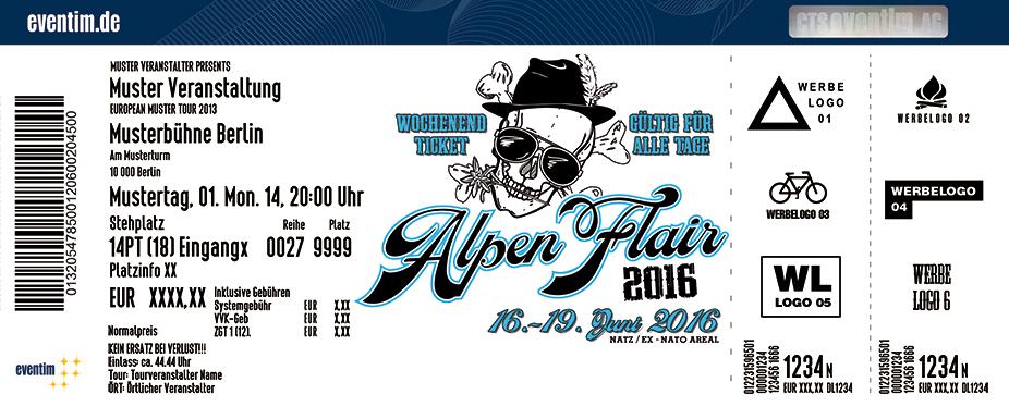 <b>Alpen Flair Festival</b> in Natz - Südtirol (It) am 16.06.2016 ...
