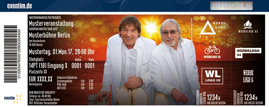 Karten für Amigos: Gold Tour 2018 in Ettelbruck