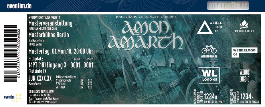Amon Amarth Karten für ihre Events 2017