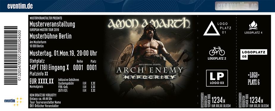 Amon Amarth - Berserker World Tour 2019
