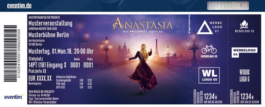 Karten für ANASTASIA - Das Broadway Musical in Stuttgart