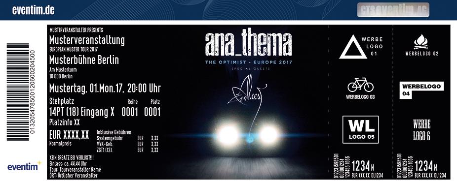Karten für Anathema & Special Guest: Alcest in Hamburg