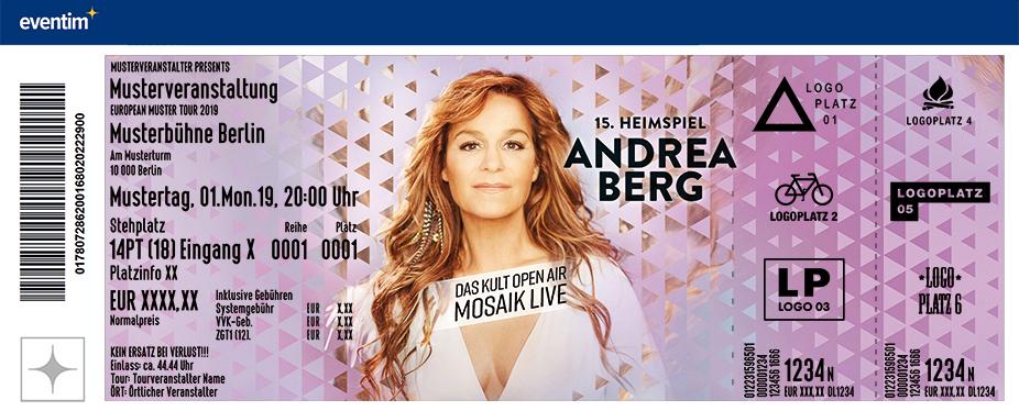 """Andrea Berg """"15. Heimspiel"""" - Das Kult Open Air Mosaik Live - 2020"""
