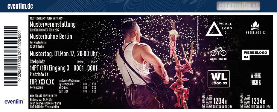 Karten für Andreas Gabalier - Live 2018 in Braunschweig