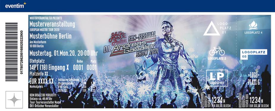 Die Andreas Gabalier Show 2021 - Das Volks-Rock'n'Roller Fan-Festival
