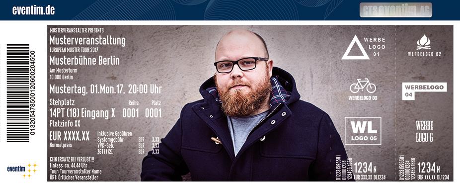 Karten für Andreas Kümmert & Band: Recovery Case - Zusatzkonzerte in Hamburg