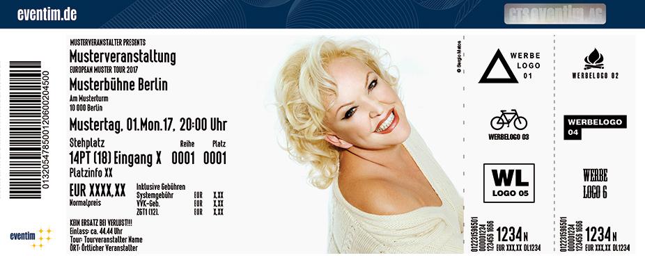 Karten für Angelika Milster singt Musical in Leverkusen