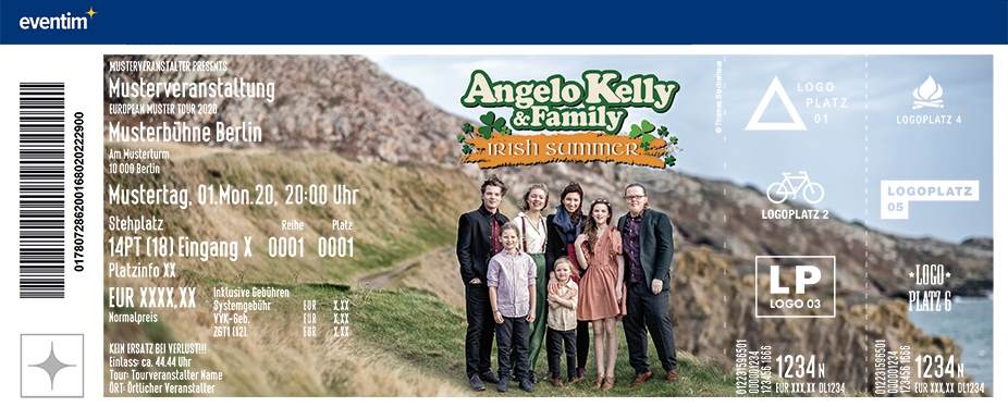 Angelo Kelly & Family - Irish Summer Tour 2021 | Burghauser Konzertsommer
