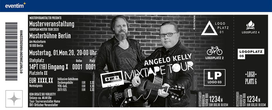 Angelo Kelly - Mixtape Tour