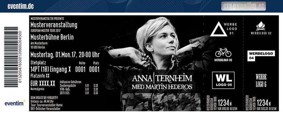 Karten für Anna Ternheim in Hamburg