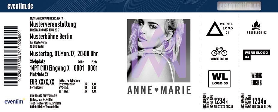 Karten für Anne-Marie in Hamburg