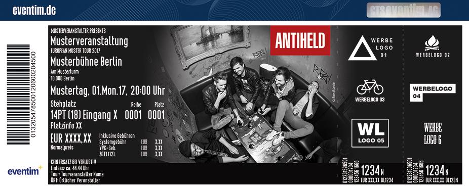 Karten für Antiheld in Köln