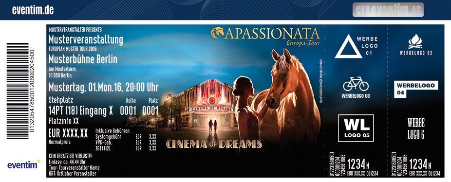 Apassionata Karten für ihre Events 2017