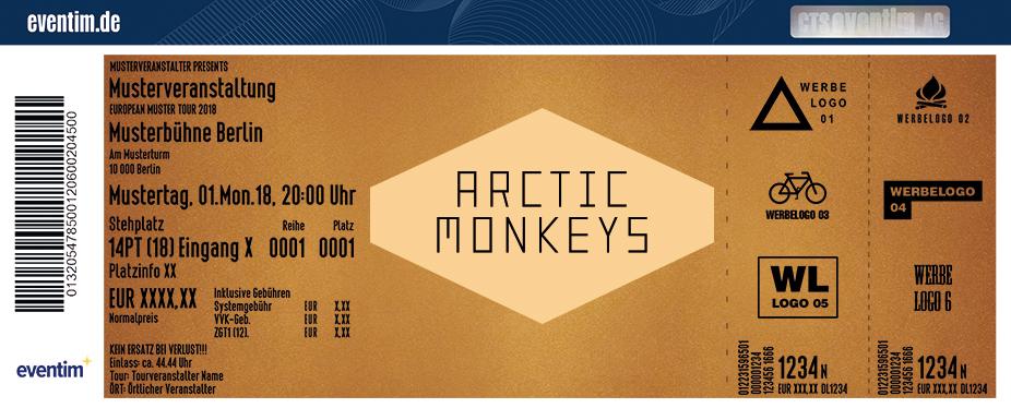 Arctic Monkeys Karten für ihre Events 2018