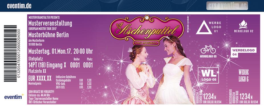 Karten für Aschenputtel - Das Musical in Kornwestheim