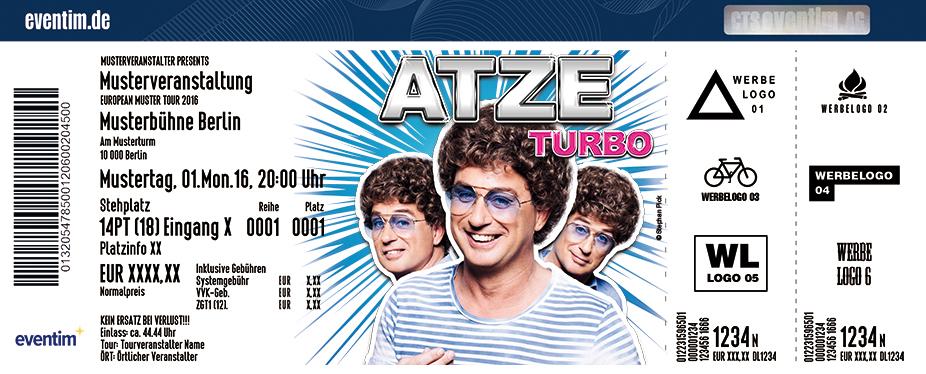 Karten für Atze Schröder: Turbo in Kassel
