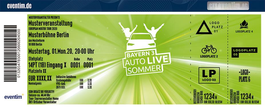 BAYERN 3 Auto Live Sommer