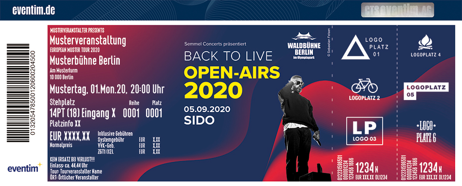 Back to LIVE - Open Airs 2020