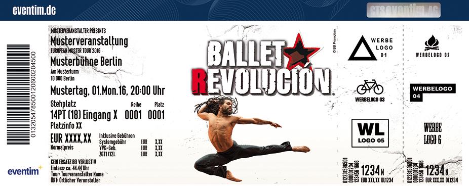 Karten für Ballet Revolución in Leipzig