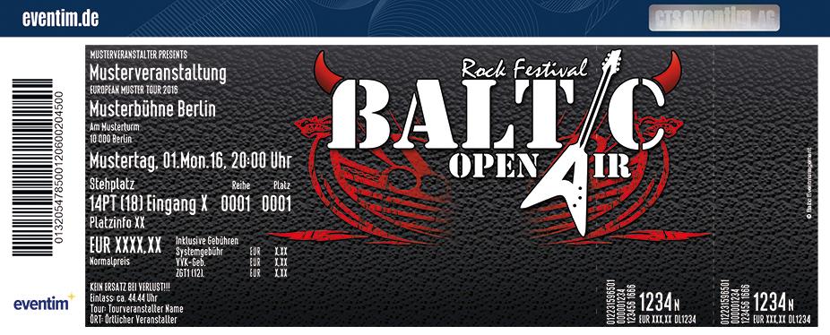 Karten für Baltic Open Air in Schleswig / Busdorf