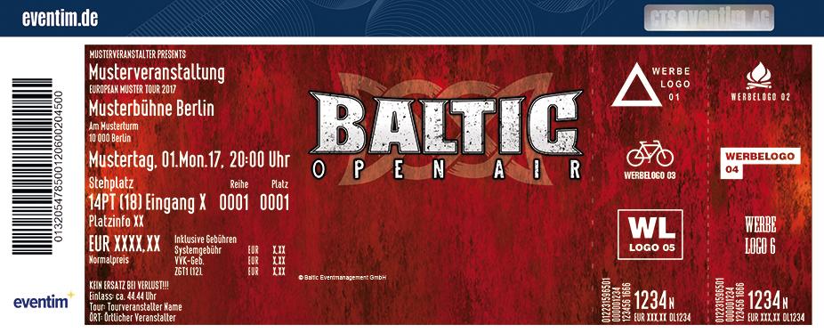 Baltic-Open-Air-Festival Karten für ihre Events 2018