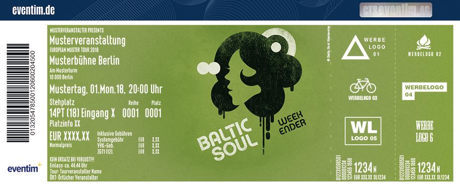 Baltic Soul Weekender Karten für ihre Events 2018