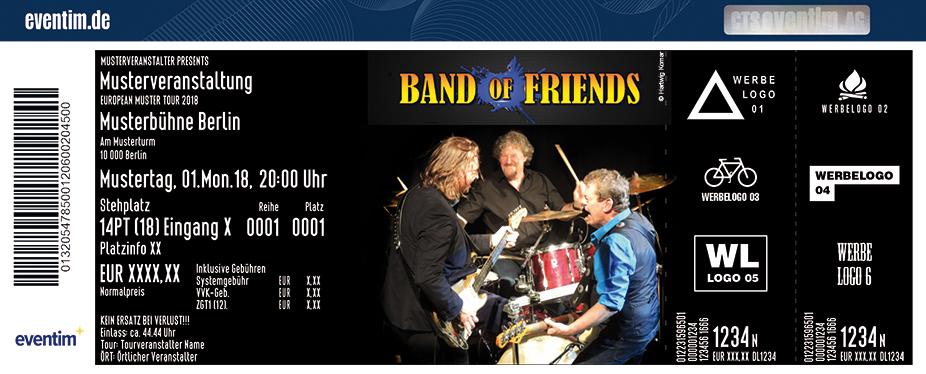 Karten für Band Of Friends in Neuss