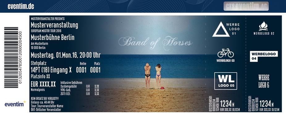 Karten für Band Of Horses in Frankfurt
