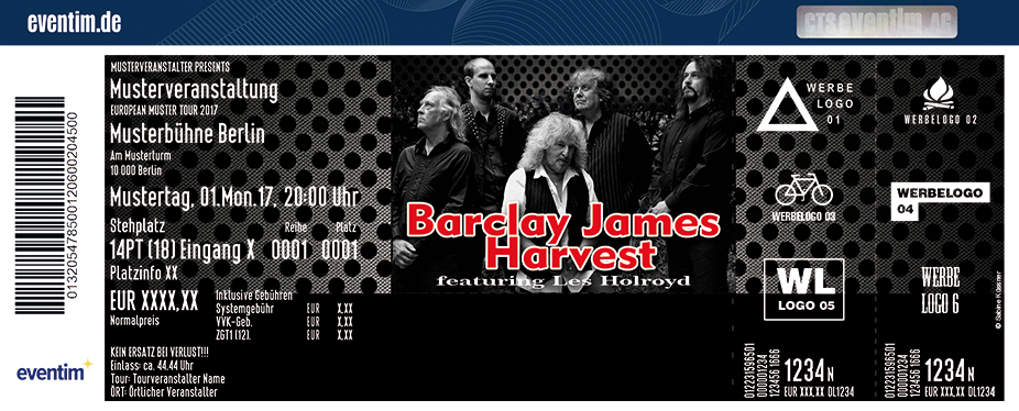 Karten für Barclay James Harvest feat. Les Holroyd - Oldie-Rock-Legenden Open Air in Görlitz