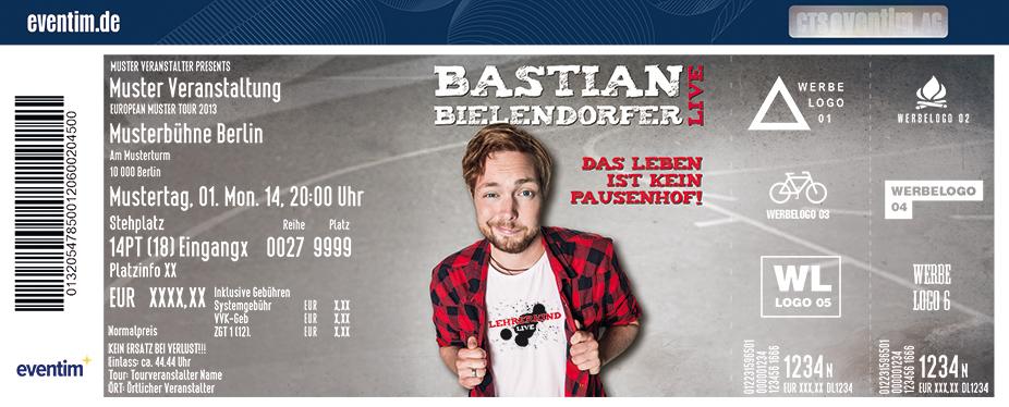 Karten für Bastian Bielendorfer: Das Leben ist kein Pausenhof! in Zwickau
