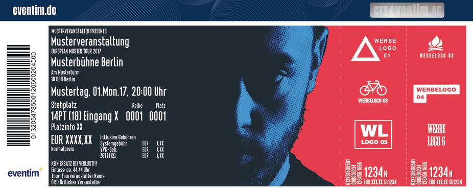 Karten für Bausa: Dreifarben Tour 2017 in Wien