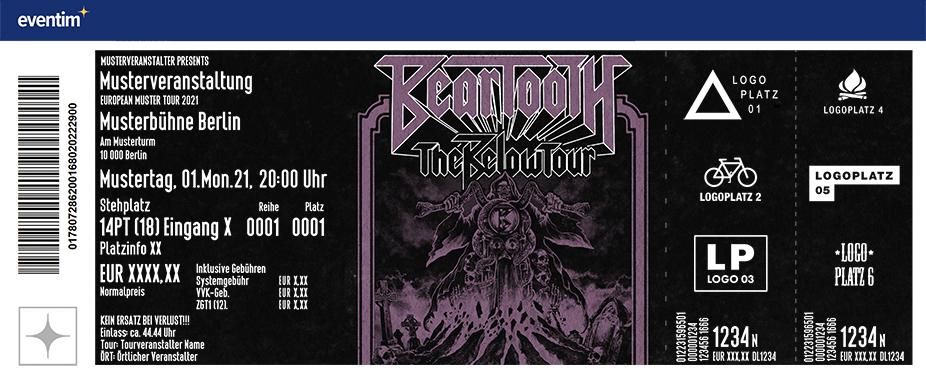 Beartooth - The Below Tour