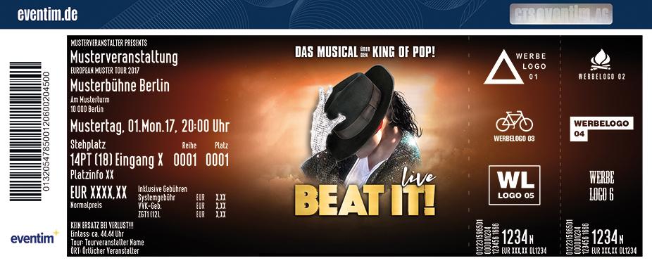Beat It! Karten für ihre Events 2018