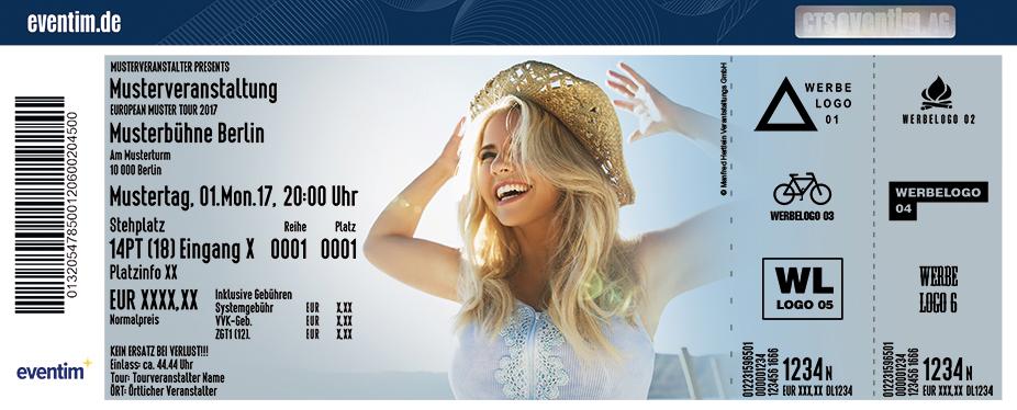 Karten für Beatrice Egli: Wohlfühlgarantie Tournee 2018 in Ansbach