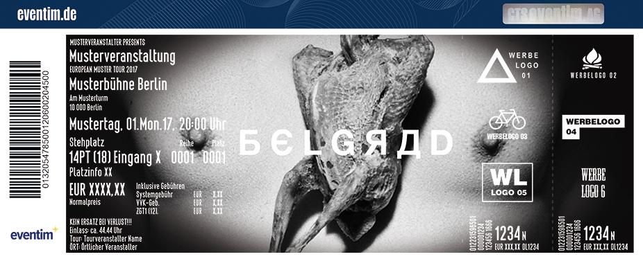 Karten für Belgrad in Berlin