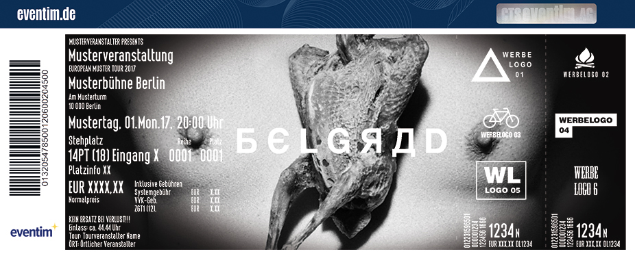 Karten für Belgrad in Dresden